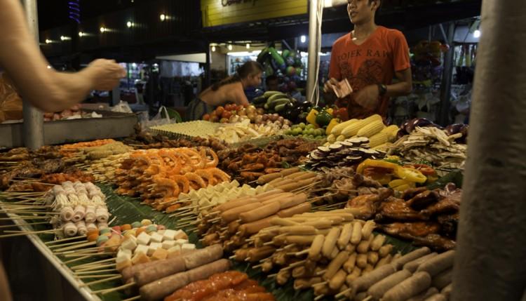 Karon Beachin markkinat, Phuket