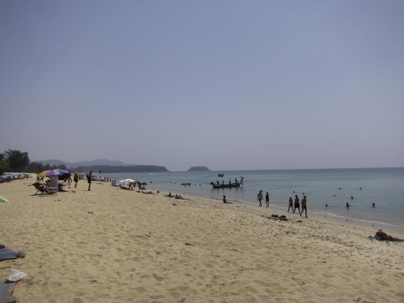 Karon Beach, Phuket ranta
