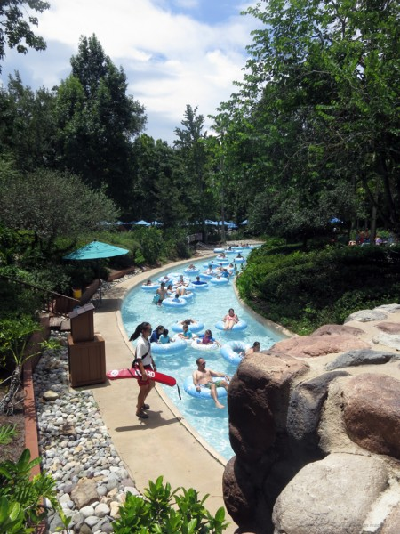 Lazy River - Blizzard Beach, Disneyn vesipuisto